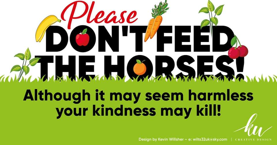 #Stop feeding our horses